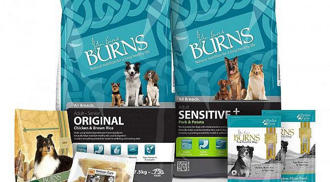 Burns Dog Food Company make a generous donation