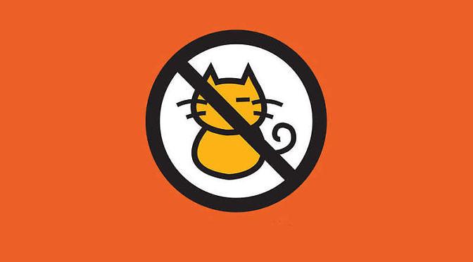 No cats please!